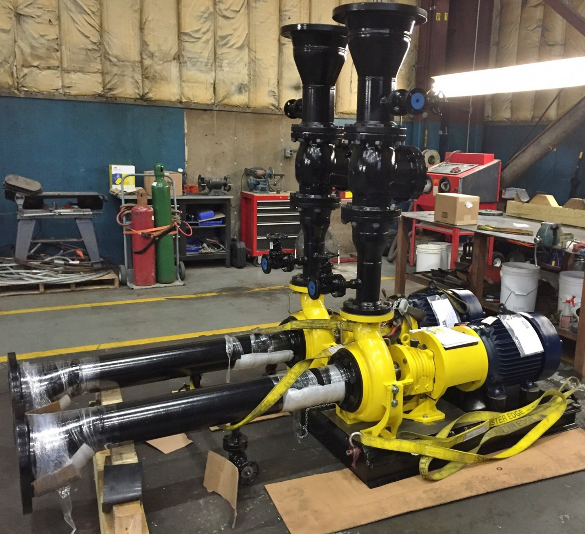 Doty-Miller #2 pumps for CPE 8-16