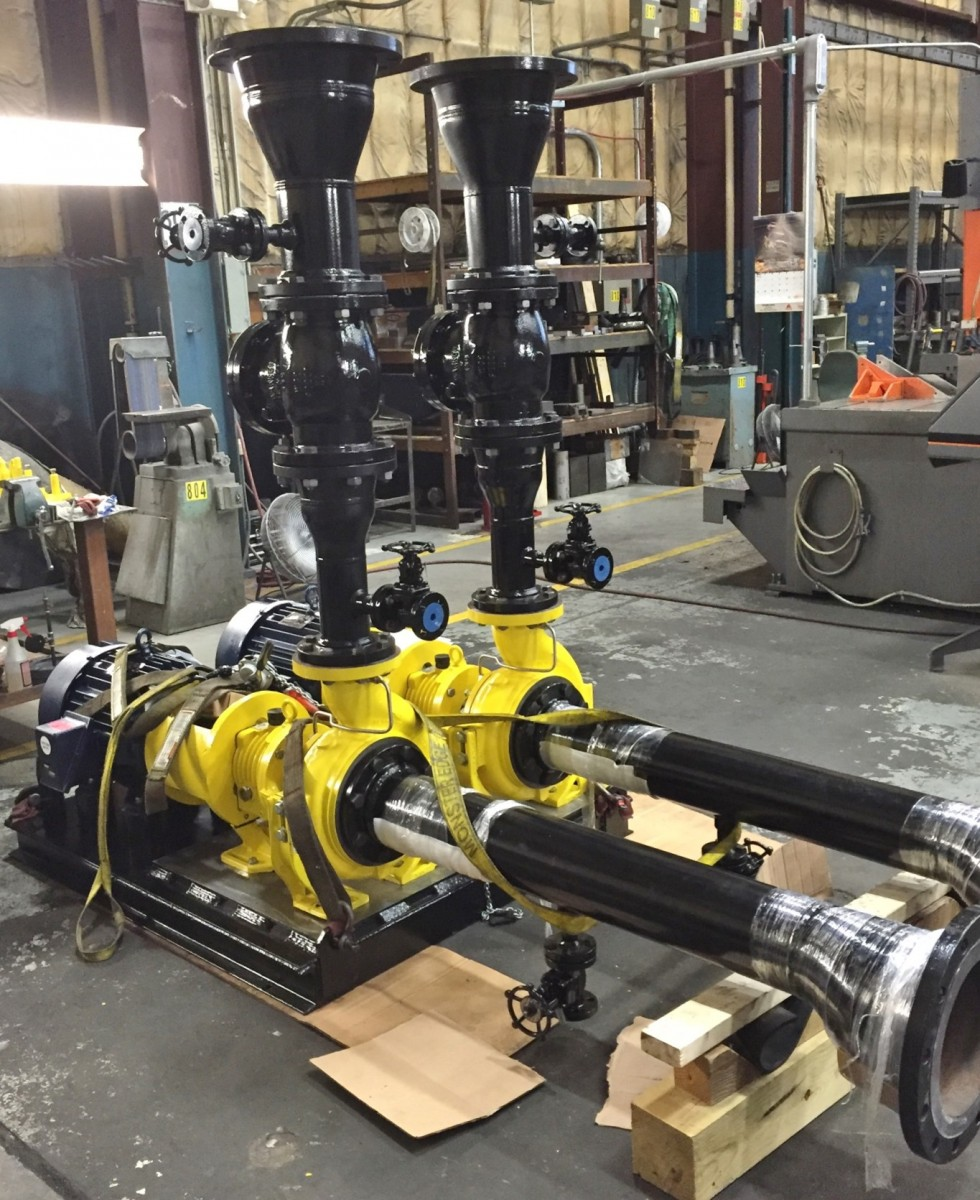 Doty-Miller pumps for CPE 8-16